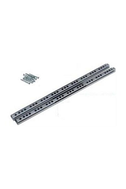 SAMET 17mm X 34,2cm Bilyalı Çekmece Ray ,genişlik- 17mm = 1,7cm - Uzunluk 34,2 Cm