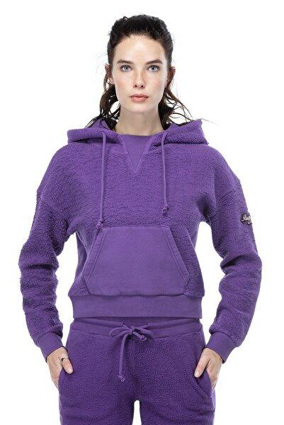 Ruck & Maul Kadın Mor Sweatshirt 21093 3737