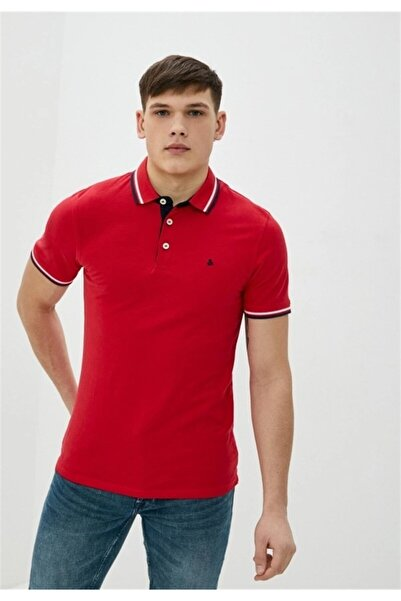 Jack & Jones Erkek True Red Kısa Kol T-shirt 12136668