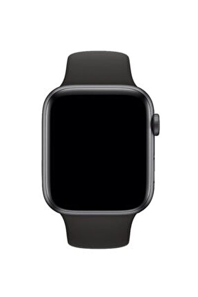 Apple Watch Uyumlu 38 - 40 mm S/M Ölçülerinde Siyah Spor Kordon