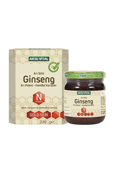 Aksu Vital Arı Sütü Polen Ginseng Arı Poleni & Ham Bal Karışımı 220 gr