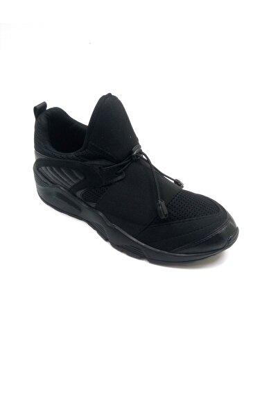Bulldozer Siyah Spor Ayakkabı