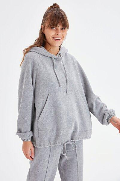 Chima Kapüşonlu Kanguru Cepli Sweatshirt
