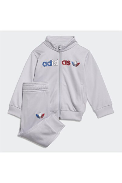 adidas Adicolor Primeblue Track Suit Çocuk Eşofman Takımı