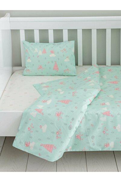 LCW HOME Yeşil Bebek Nevresim Takımı