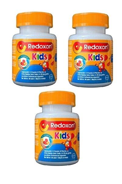 Redoxon Kids 60 Çiğnenebilir Tablet 3 Lü