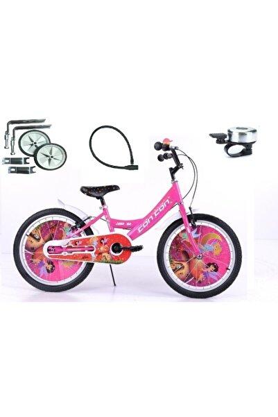 Klass 20 Jant Pembe Kız Çocuk Bisikleti 7-8-9-10 Yaş Çocuk Bisikleti Denge Tekeri Zil Kilit