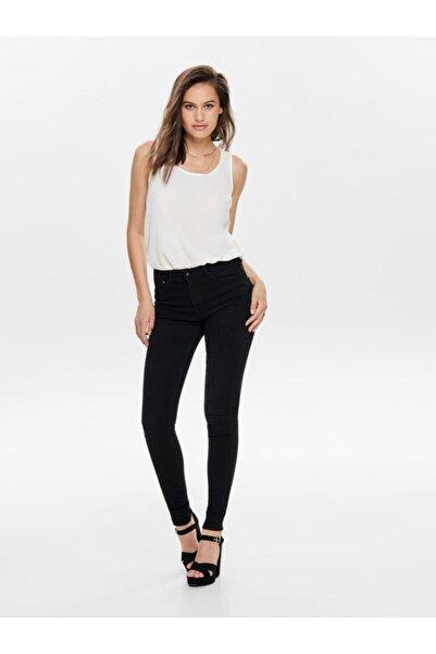 Only Kadın Siyah  Jean Pantolon