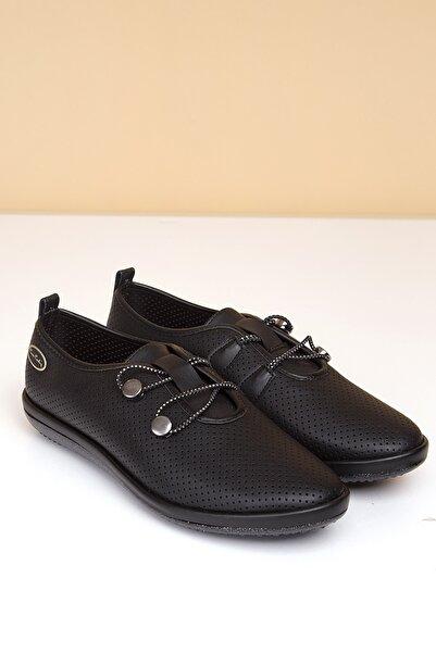 Pierre Cardin Kadın Siyah Günlük Ayakkabı Pc-50093