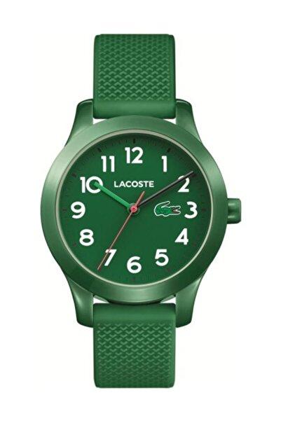 Lacoste Watch Unisex Çocuk  Yeşil Lacoste 2030001 Kol Saati