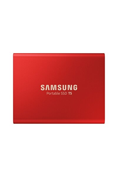 Samsung Taşınabilir Ssd T5 usb 3.1 500gb (Kırmızı)