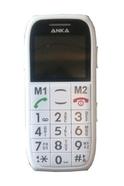 Anka M9 Beyaz Tuşlu Cep Telefonu (Ithalatçı Firma Garantili)