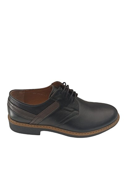 Sarar Erkek Siyah Bağcıklı Ayakkabı