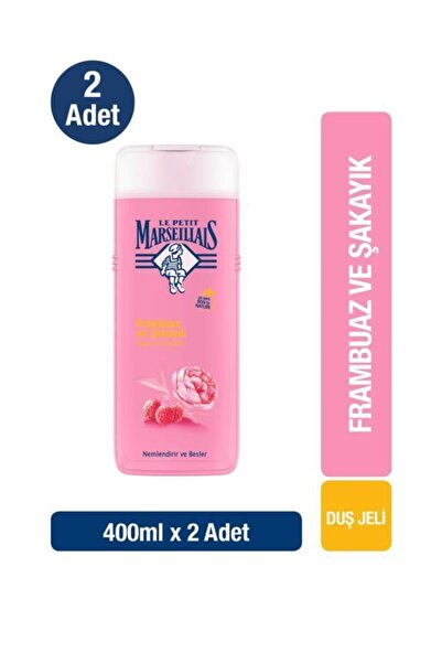 Le Petit Marseillais Duş Jeli Frambuaz Ve Şakayık 400 ml X2