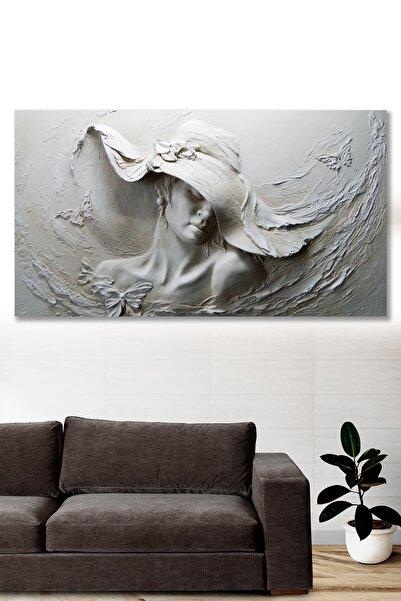 Hediyeler Kapında 120x60 Dekoratif Kanvas Duvar Tablo