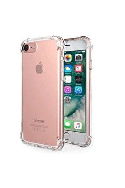 Iphone 7 / 8 Şok Darbe Emici Şeffaf Silikon Kılıf