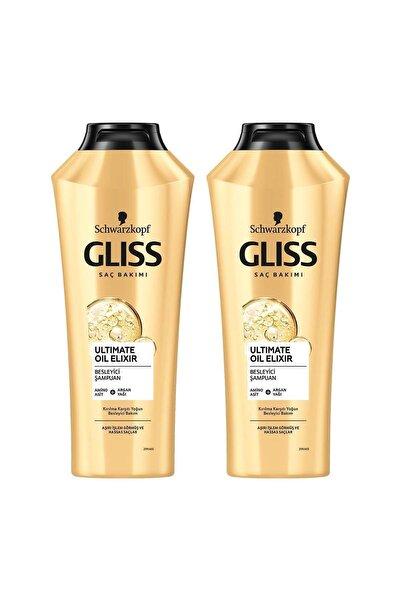 Gliss Ultimate Oil Elixir Besleyici Şampuan 360 ML 2'li