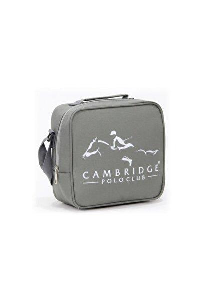 Cambridge Polo Club Unisex Çocuk Gri Beslenme Çantası Plbsl80007