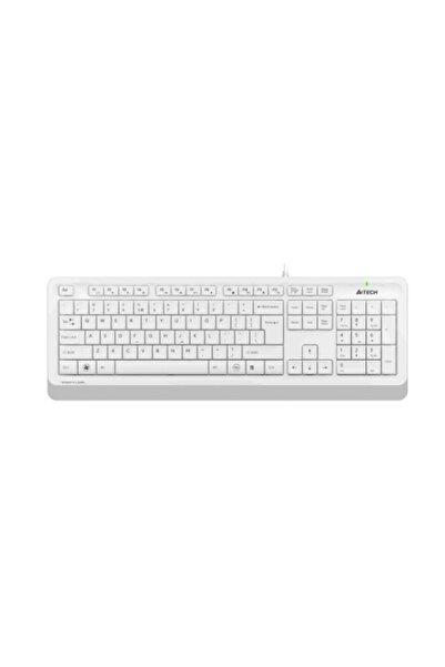 A4 Tech Fk10 Beyaz Fstyler Türkçe Q Usb Kablolu Klavye