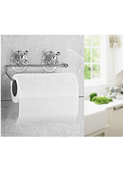 ORSA Vakumlu Kağıt Havlu Askısı Mutfak Banyo Tuvalet Krom Kaplama