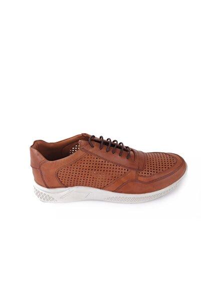 Hobby Taba Deri Erkek Casual Ayakkabı 4264