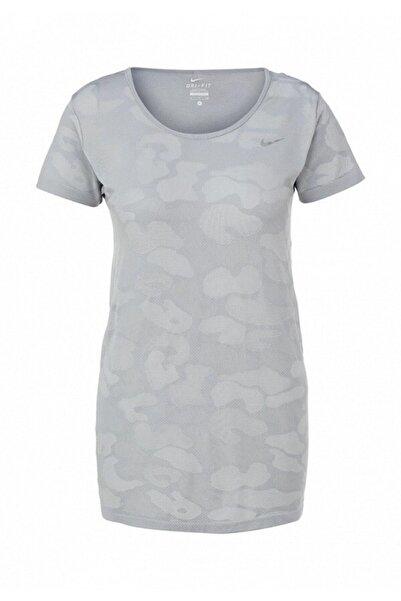 Nike Women's Dri-fıt Knit Contrast Running T-shirt