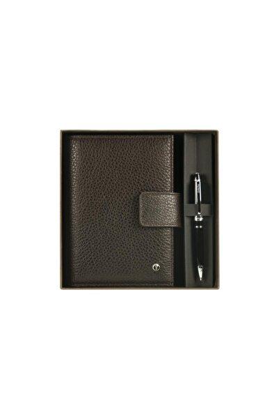 Scrikss Toscana Kahverengi Cep Ajandası Kutulu 14,5 X 11cm Dr2202-2