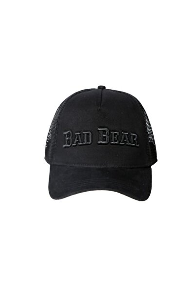Bad Bear Siyah Erkek Şapka