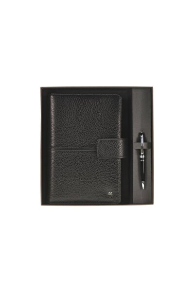 Scrikss Toscana Siyah Medium Ajanda Kutulu 20 X 14cm Dr2201-1