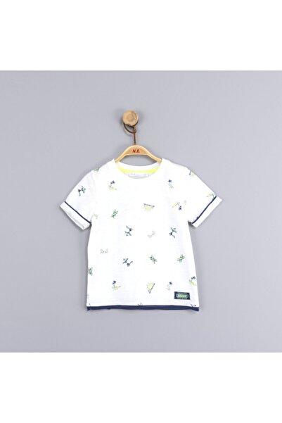 NK Erkek Bebek Çocuk Summer Neon Reli Tshirt