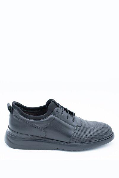 İgs Erkek Deri Günlük Ayakkabı I20w-102-2-2 M 1000 Siyah