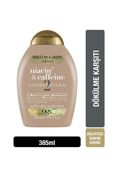 OGX Dökülme Karşıtı Niacin & Caffeine Sülfatsız Bakım Kremi 385 ml