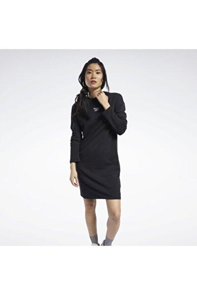 Reebok Ft8193 Classics Logolu Siyah Kadın Elbisesi