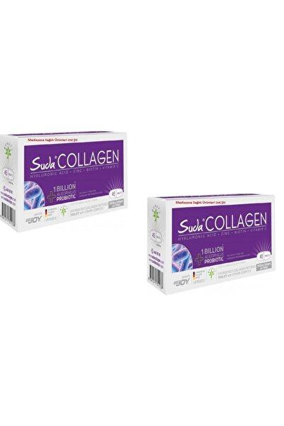 Suda Collagen 45 Tablet X 2 Kutu Tip 1-3 Kollajenli Ve Probiyotikli Skt: 02/2022