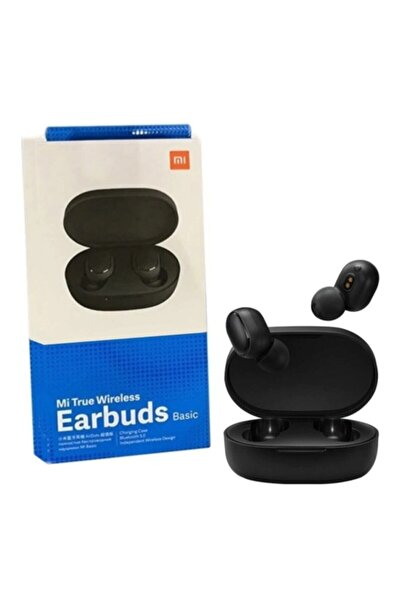 Egalaksi Siyah Xiaomi Mi Airdots True Wireless Earbuds Basic Bluetooth Kulaklık