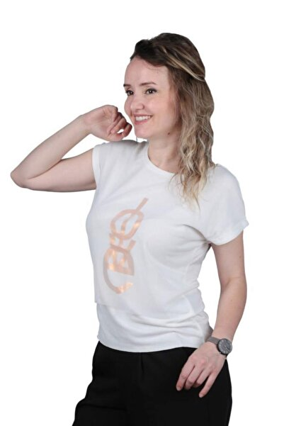 Cazador Kadın Bisiklet Yaka Tişört 4381