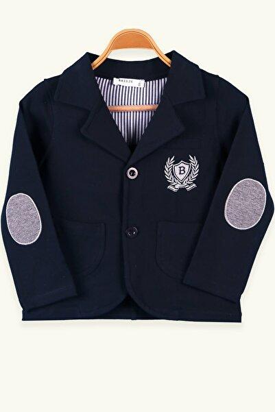 Breeze Erkek Çocuk Hırka Ceket Düğmeli Lacivert (2-6 YAŞ)