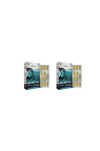 Zade Vital D3+k2 Vitamini 30 Kapsül 2'li Paket