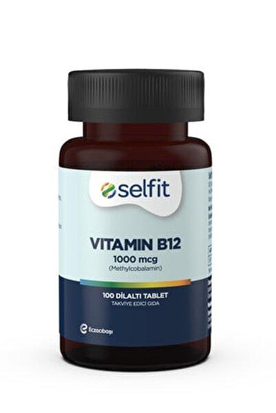 B12 Vitamin 1000 Mcg 100 Dilaltı Tablet - Son Kullanma Tarihi: 07.2022