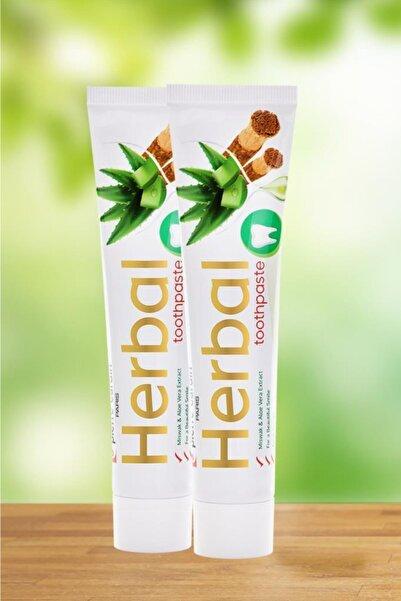 Pierre Cardin Aloe Vera & Misvak & Çay Ağacı Özlü Bitkisel Diş Macunu - 75 ml - 2 Adet