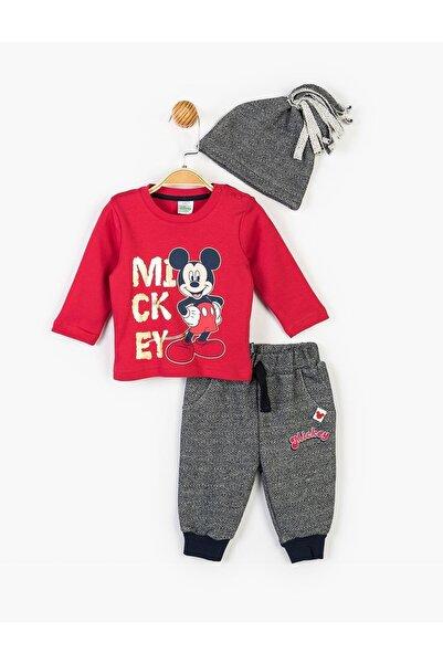 Mickey Mouse Disney Mickey Bebek 3lü Takım 14723
