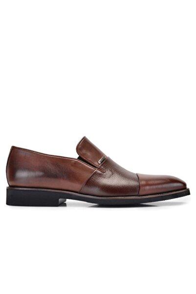 Nevzat Onay Erkek Kahverengi Hakiki Deri Loafer Ayakkabı -10797-