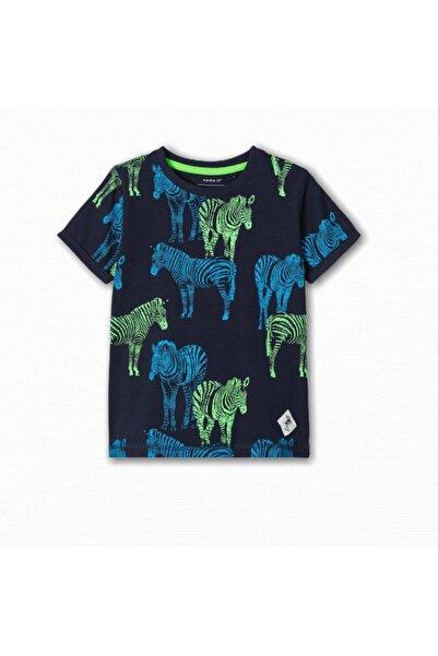 name ıt Erkek Çocuk Zebra Baskılı T-shirt