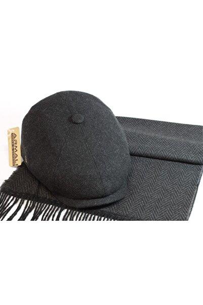 Armalı Şapka Ingiliz Kasket Atkı Takımı Peaky Blinders