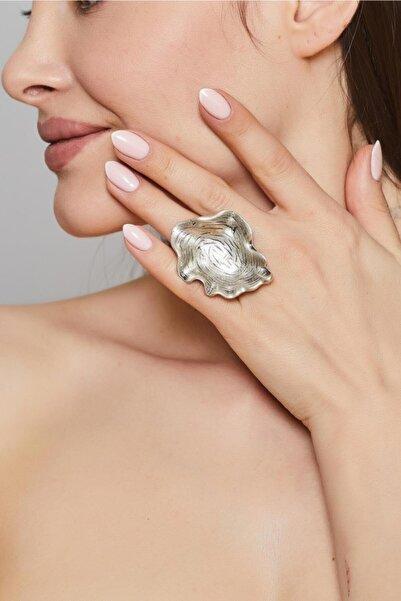ZeyDor Accessories Zeydor Antik Gümüş Kaplama Mantar Tasarım Yüzük