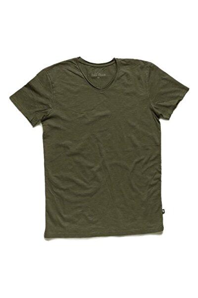 Bad Bear V-neck Tee Forest Yeşil Tişört (18.01.07.012-c09)