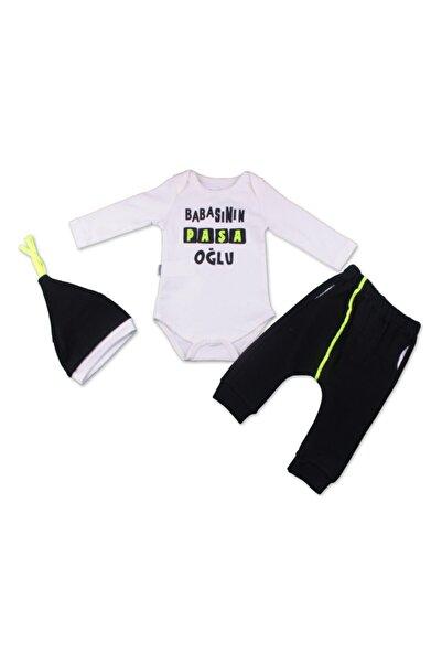 Miniworld Babasının Paşa Oğlu Badi&pantolon&bere 3'lü Takım
