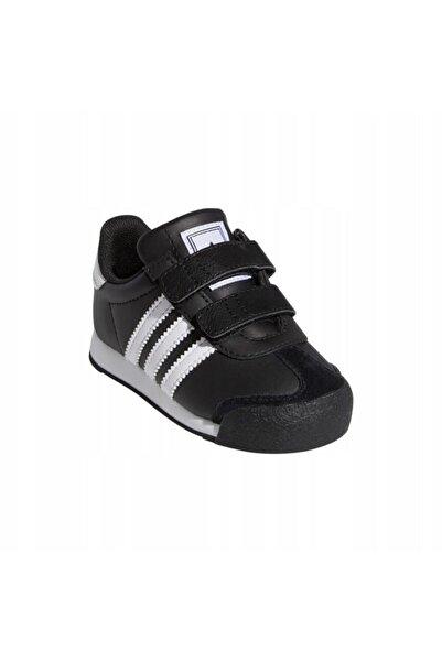 adidas Bebek Günlük Ayakkabı Spor Siyah G22612 Samoa Cf I