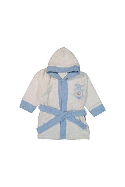 Miniworld Prince Nakışlı Bebek Bornoz
