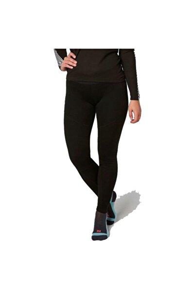 Helly Hansen W Lifa Merino Kadın Termal Pantolon Içlik Siyah